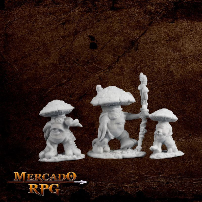 Mushroom Men (3)  - Mercado RPG