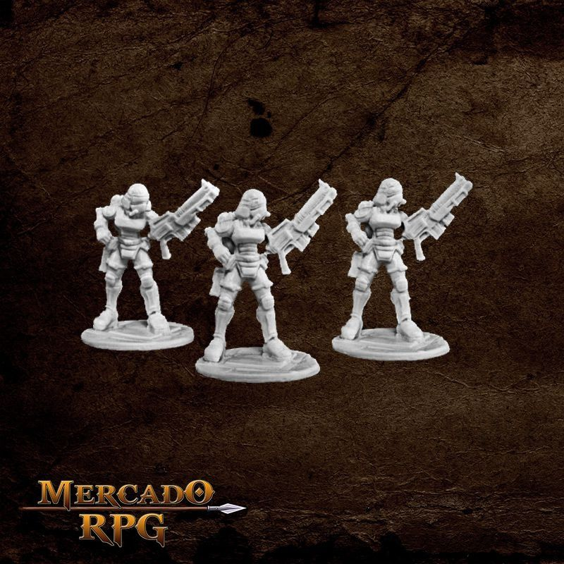 Nova Corp: Female (3)  - Mercado RPG