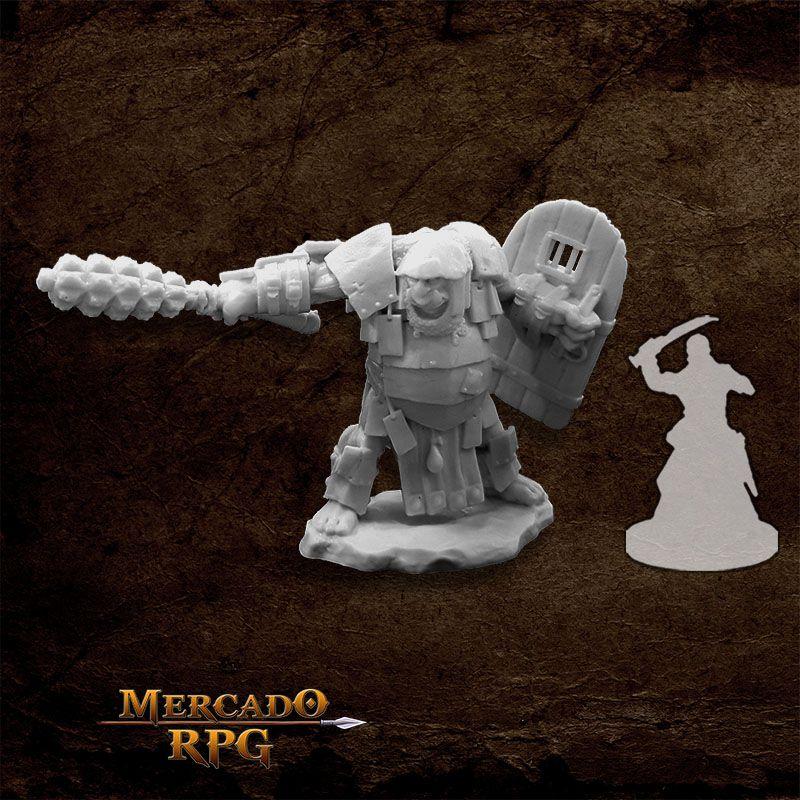 Ogre Chieftain - Miniatura RPG  - Mercado RPG