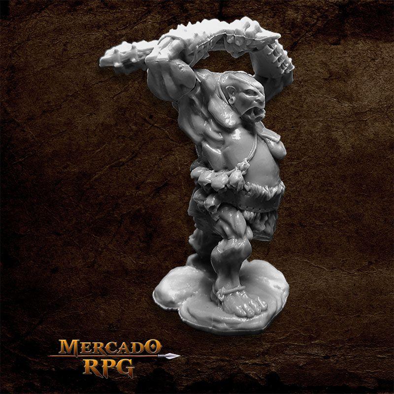 Ogre Clubber - Miniatura RPG