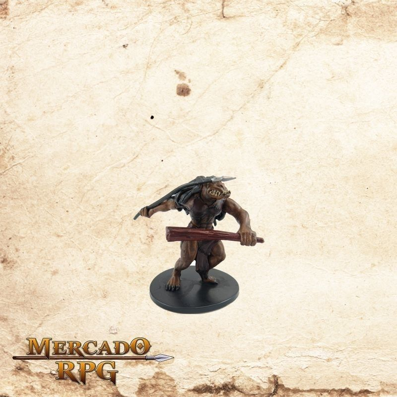 Ogre Skirmisher - Com carta  - Mercado RPG