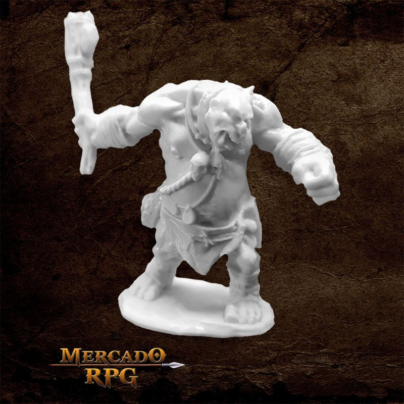 Ogre Smasher - Miniatura RPG  - Mercado RPG
