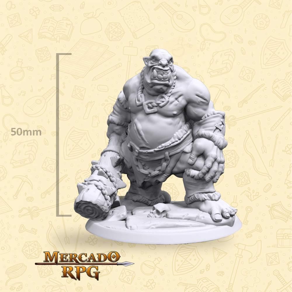 Ogro - Miniatura - RPG