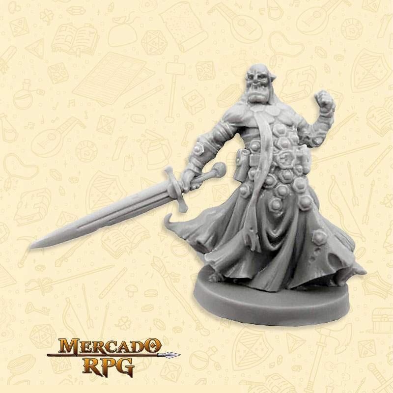 Orc Agent - Massive Darkness - Miniatura RPG