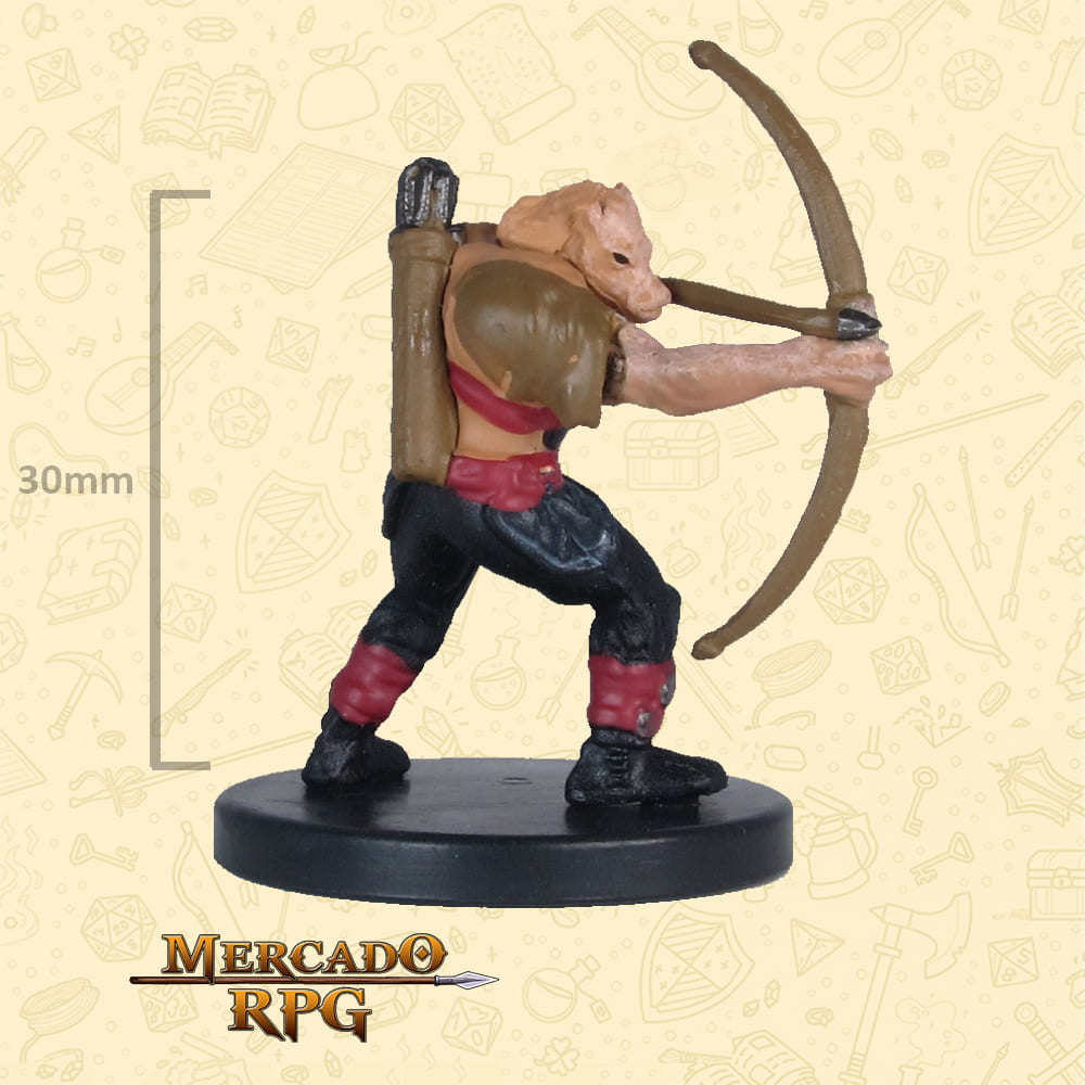 Orc Archer - Icons of the Realms Classic Creatures - Miniatura D&D - RPG