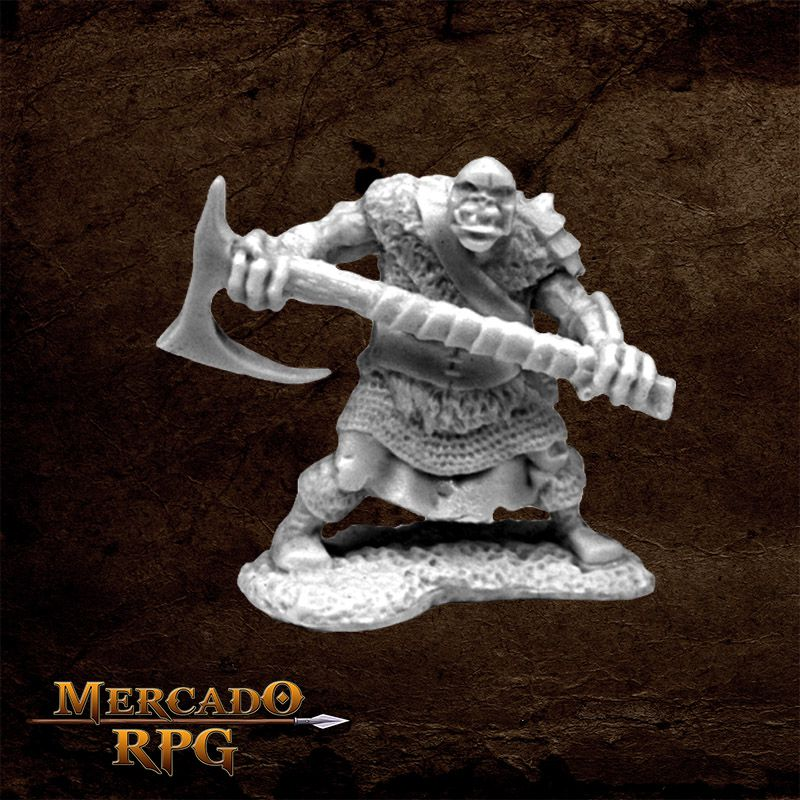 Orc Chopper - Miniatura RPG  - Mercado RPG