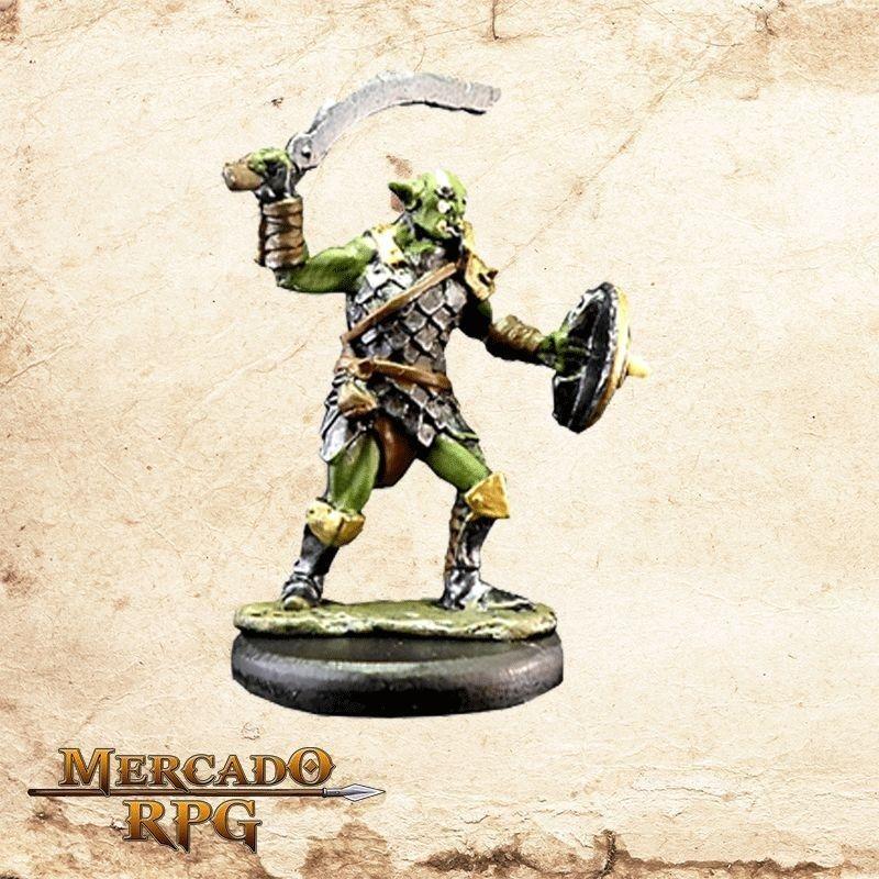 Orc - Cimitarra e Escudo