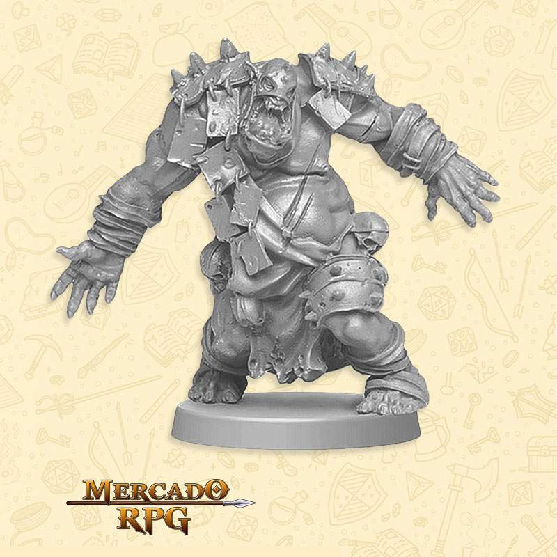 Orc Fatty B - Miniatura RPG