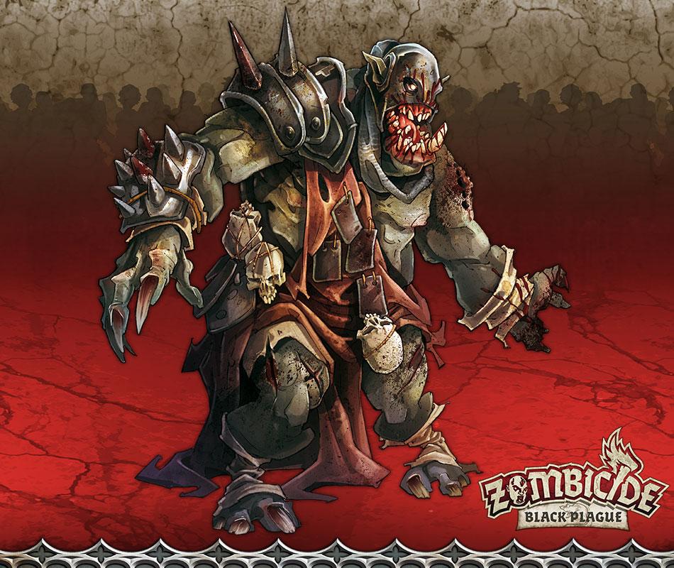 Orc Fatty B - Miniatura RPG  - Mercado RPG