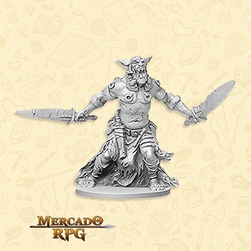 Orc Flayer Minions - Massive Darkness - Miniatura RPG