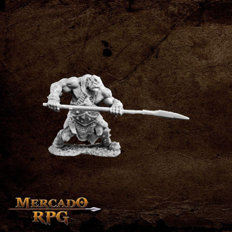 Orc Hunter (Spear)  - Mercado RPG