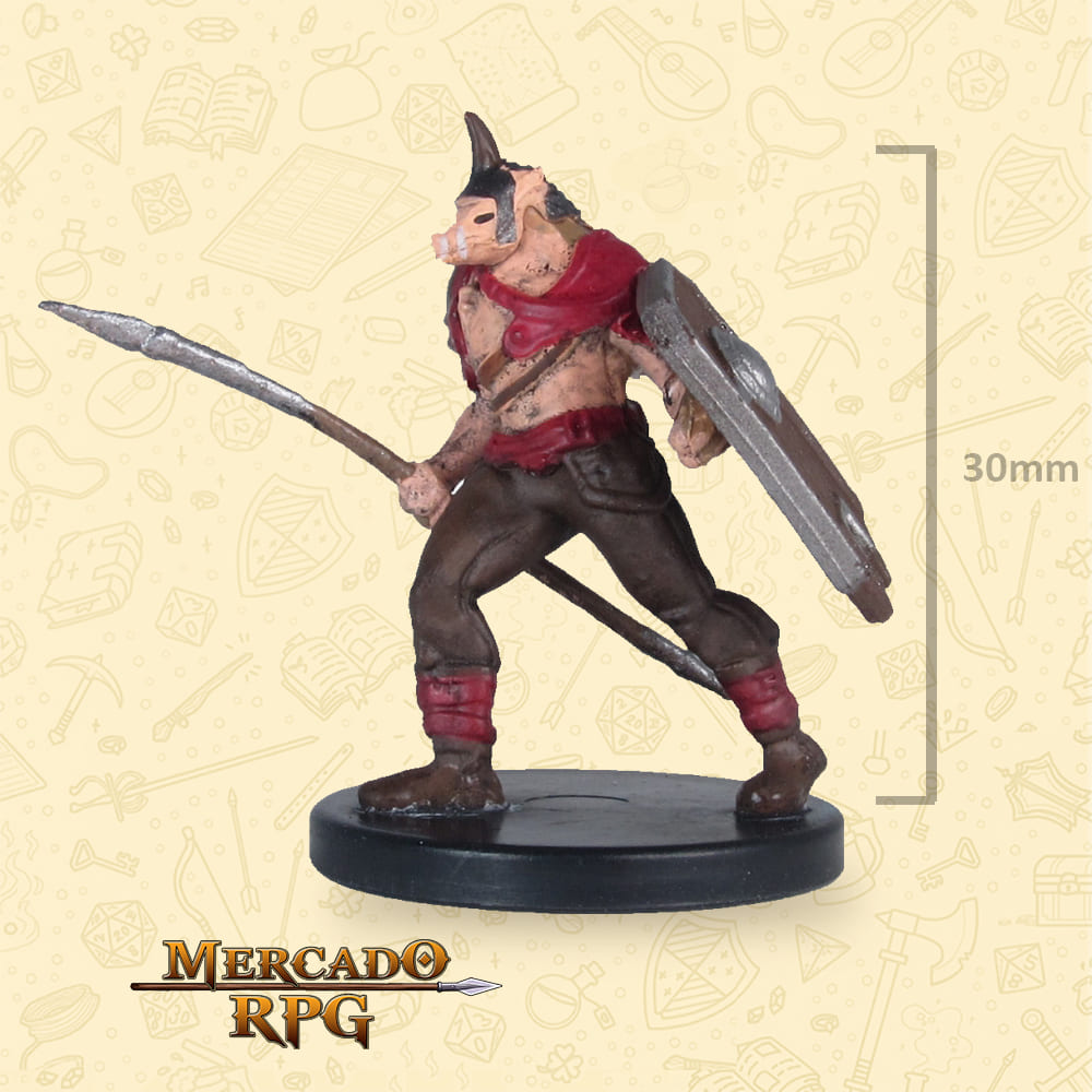 Orc - Icons of the Realms Classic Creatures - Miniatura D&D - RPG