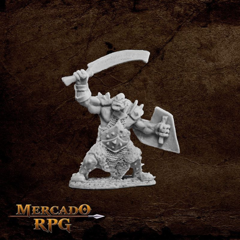 Orc Marauder (Sword and Shield)  - Mercado RPG