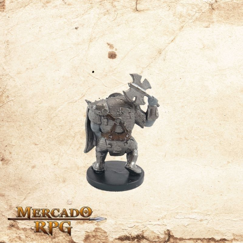 Orc Raider - Sem carta - Mercado RPG