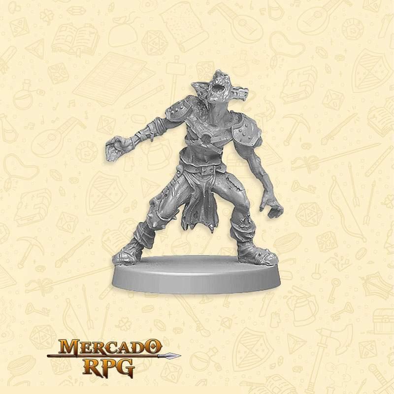 Orc Runner A - Miniatura RPG  - Mercado RPG