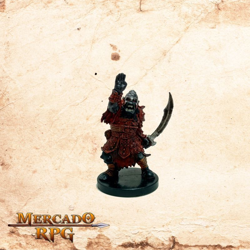 Orc Sergeant - Sem carta  - Mercado RPG