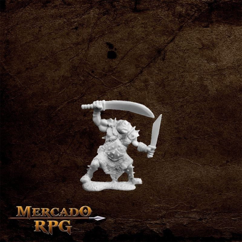 Orc Stalker (Two weapons) - Miniatura RPG