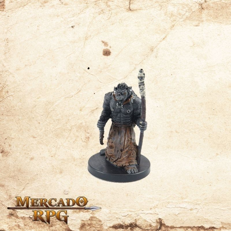 Orc Wizard - Com carta  - Mercado RPG