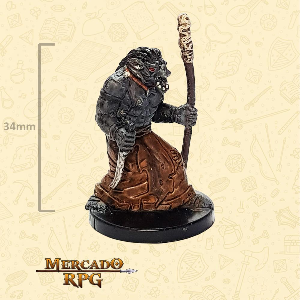 Orc Wizard - Miniatura D&D - RPG