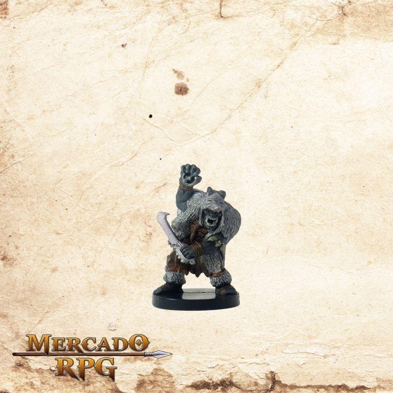 Orc Wolf Shaman - Com carta  - Mercado RPG
