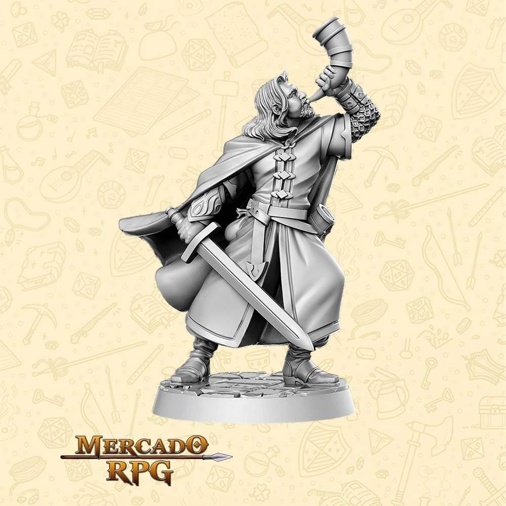 Orlando Bogamir - Miniatura - RPG