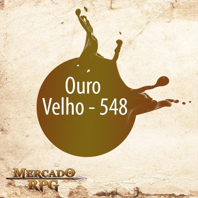 Ouro Velho 548 - Tinta Metal Colors Acrílica Metálica 60 ml - Acrilex - RPG