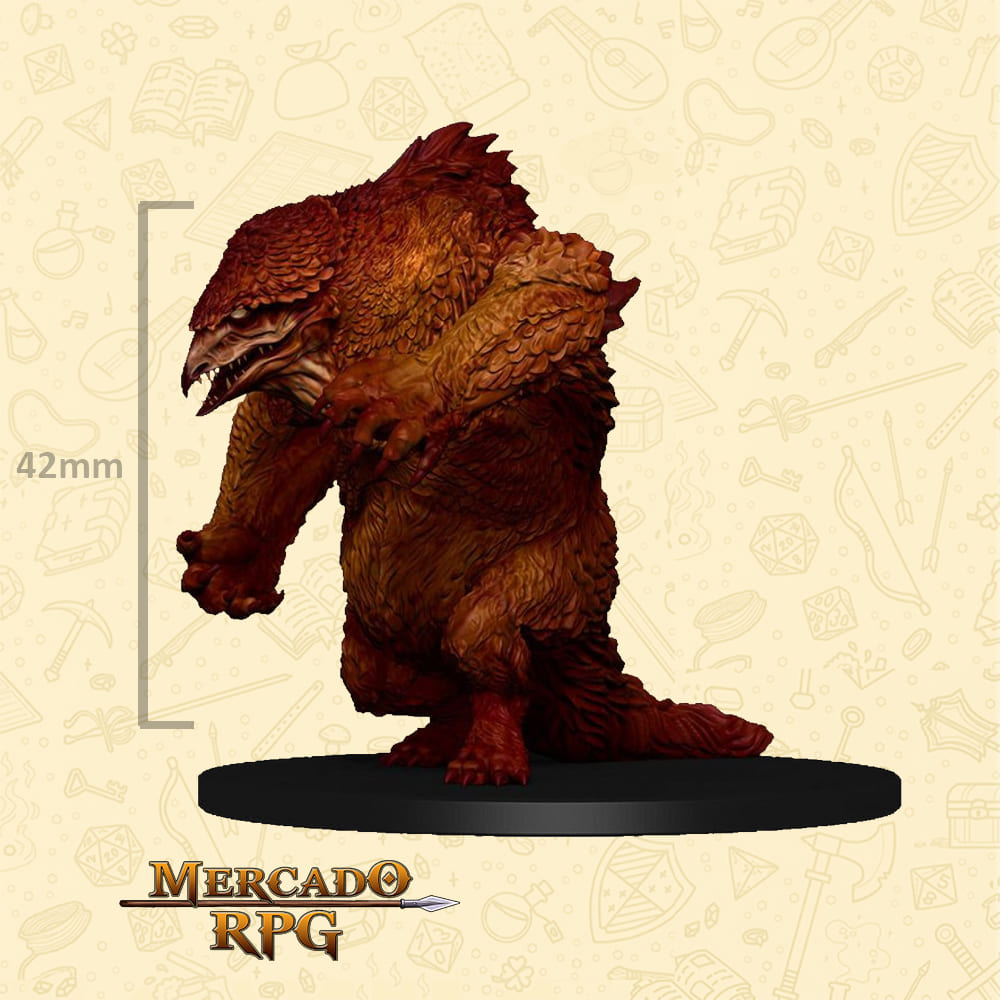 Owlbear - Icons of the Realms Classic Creatures - Miniatura D&D - RPG