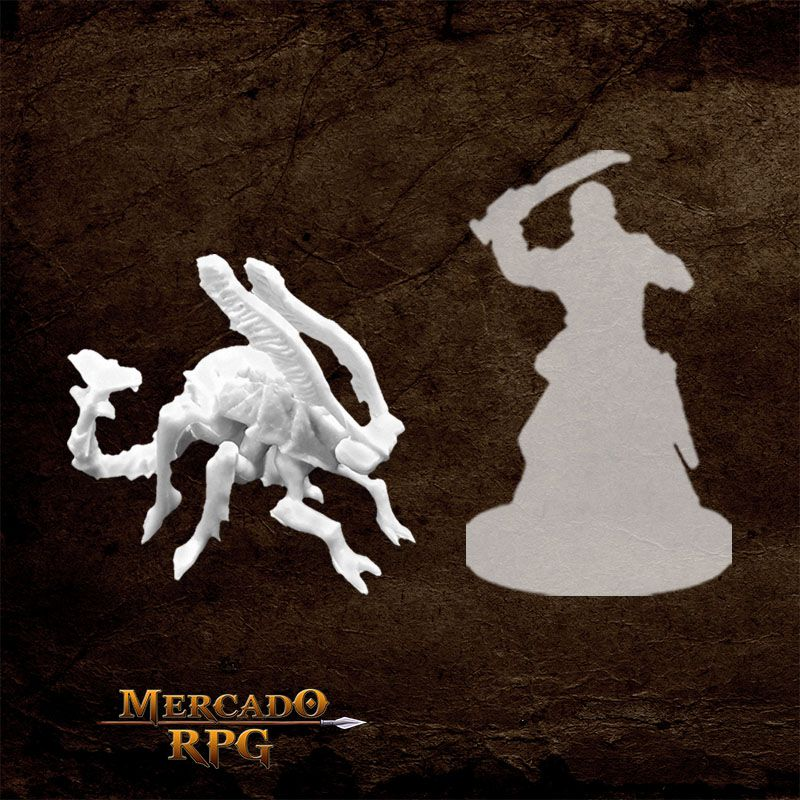 Oxidation Beast - Miniatura RPG  - Mercado RPG