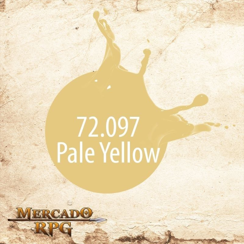 Pale Yellow 72.097  - Mercado RPG