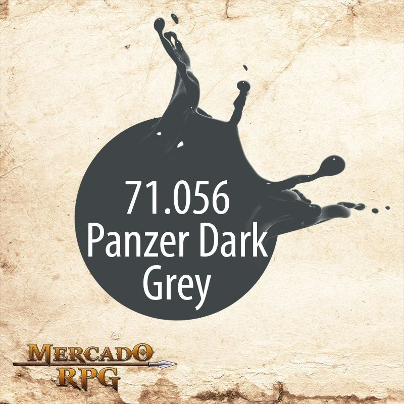 Panzer Dark Grey 71.056  - Mercado RPG