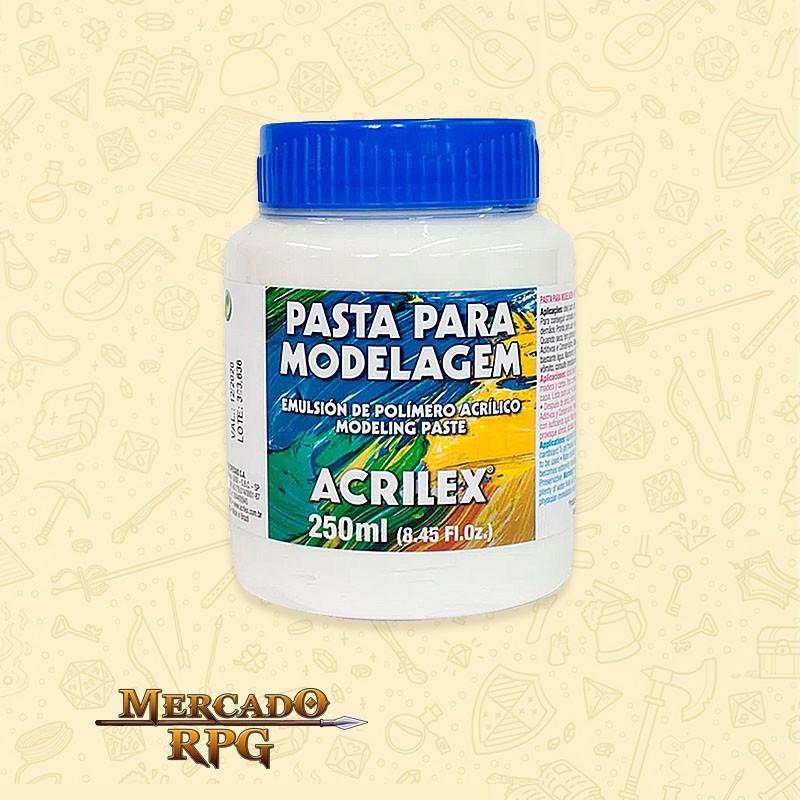 Pasta para Modelagem - 250ml  - Mercado RPG