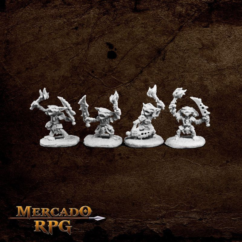 Pathfinder Goblin Pyros (4)  - Mercado RPG