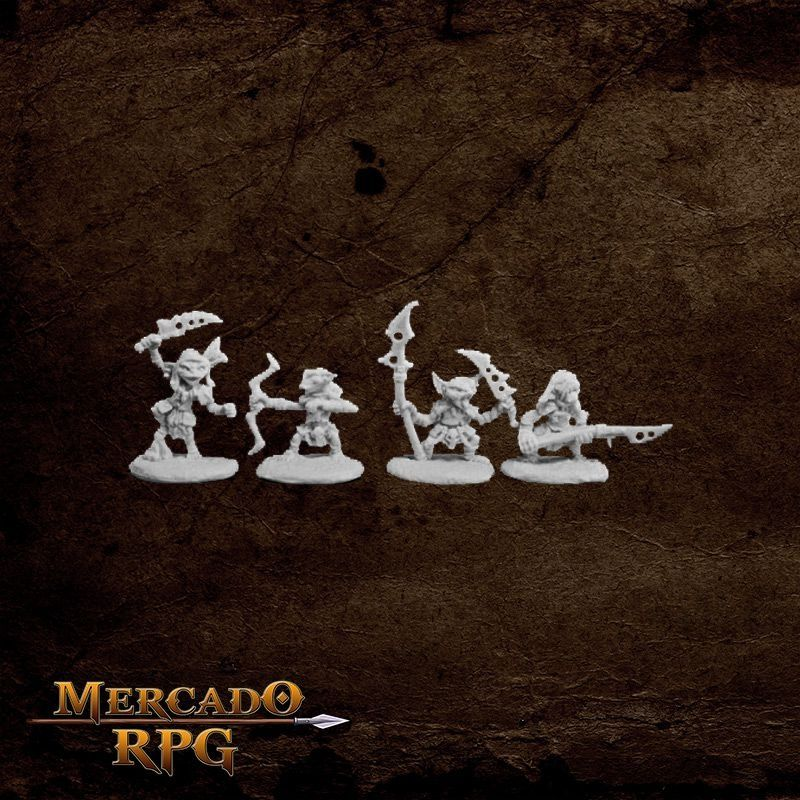 Pathfinder Goblin Warriors   - Mercado RPG
