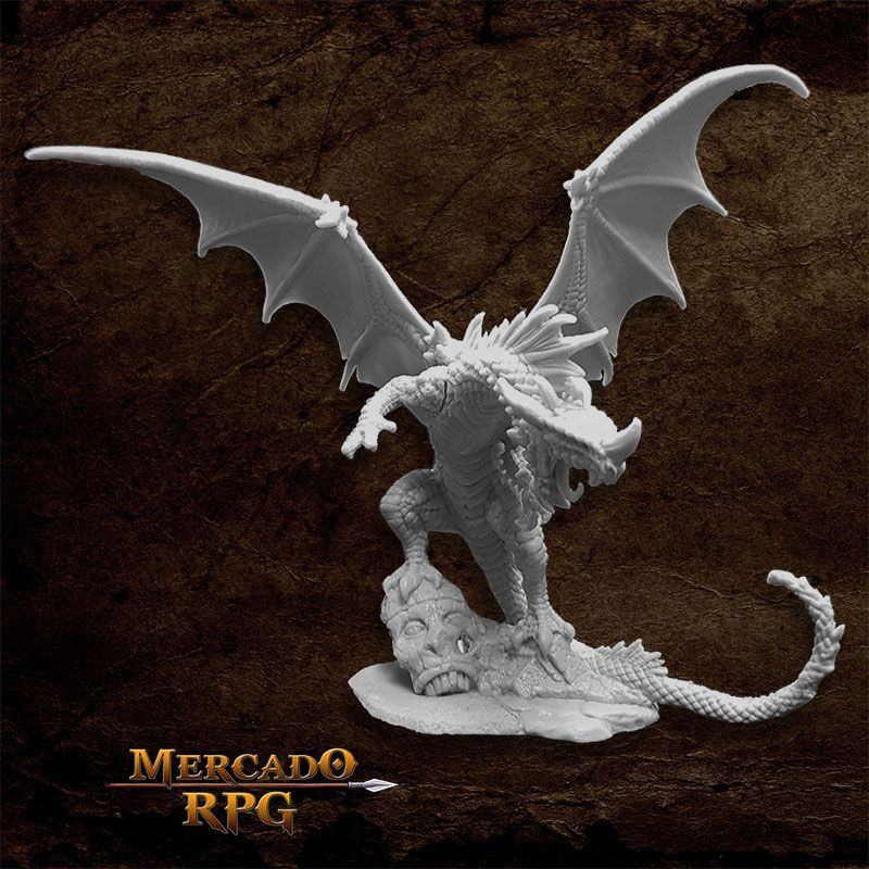 Pathfinder Red Dragon - Miniatura RPG - Mercado RPG