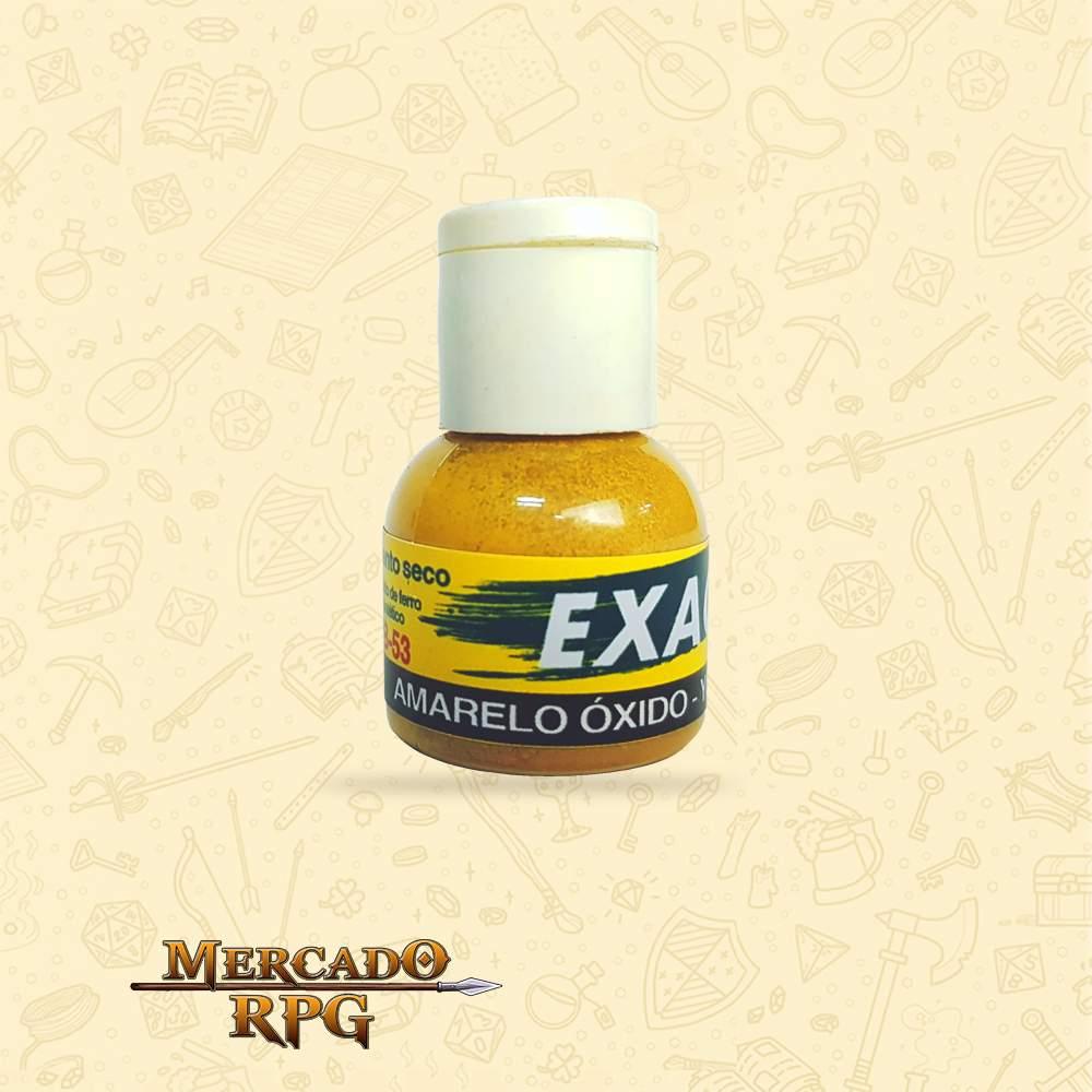 Pigmento Amarelo Óxido para Acabamento e Desgaste 16g - RPG