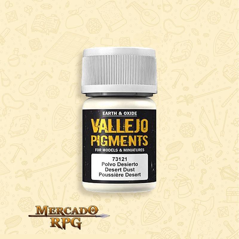 Pigmento Vallejo Desert Dust 35ml - RPG
