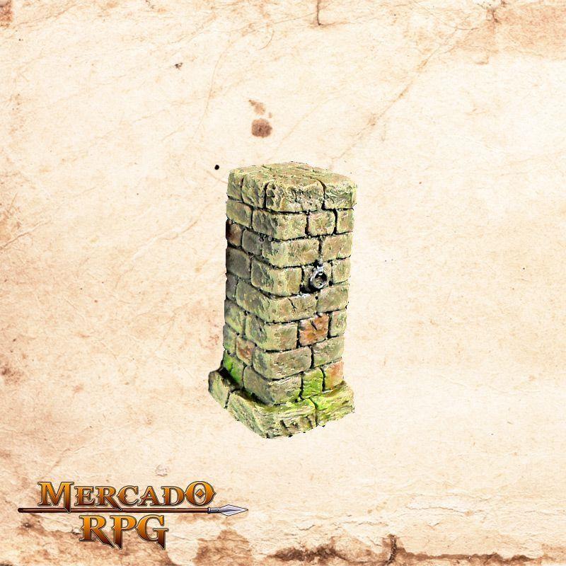 Pilastra de Tijolos A (Correntes)  - Mercado RPG