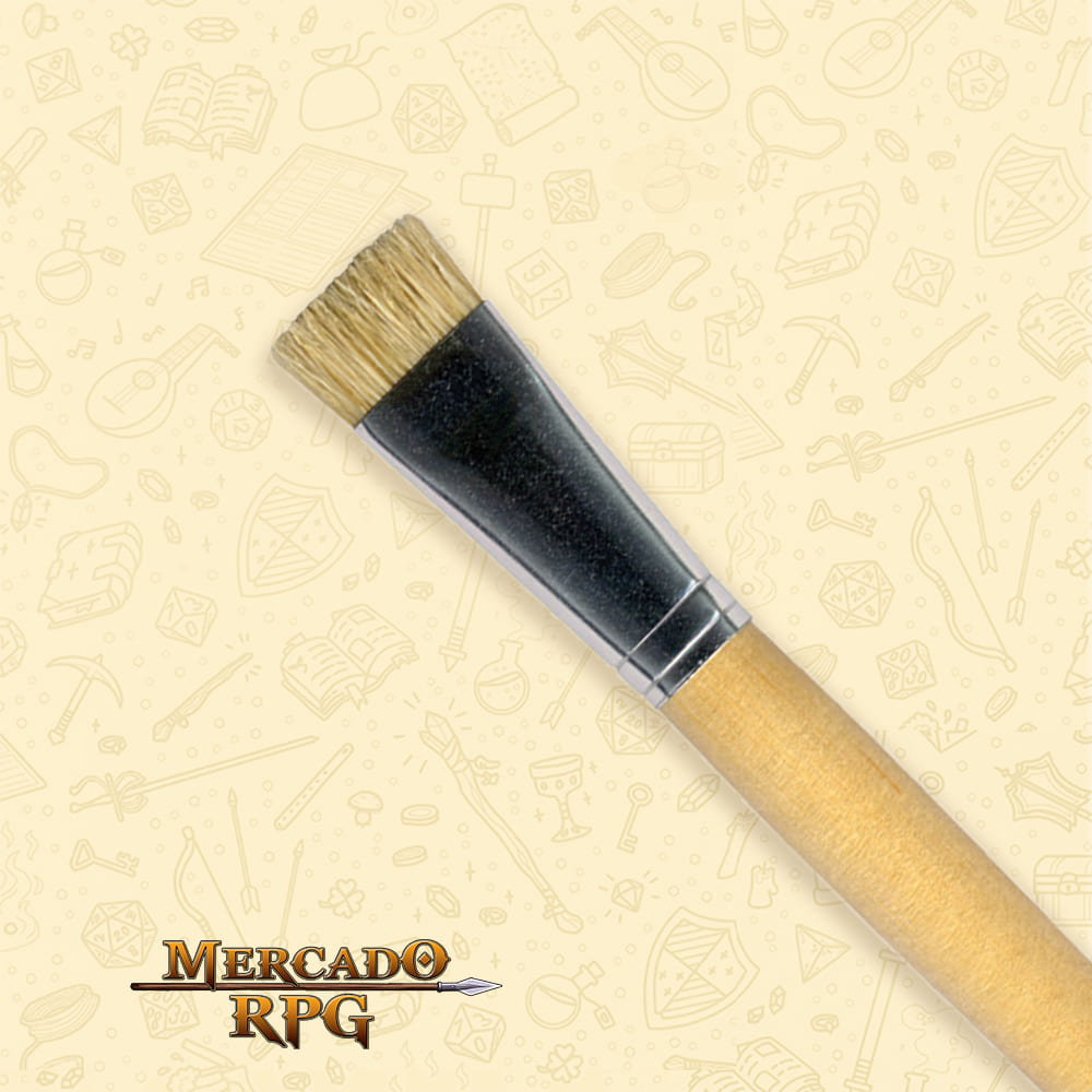 Pincel Acrilex Chato Curto Série - 053 - RPG