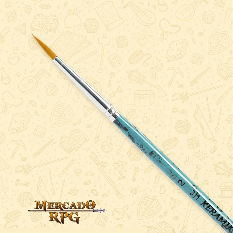 Pincel Keramik 311 - Redondo #2  - Mercado RPG