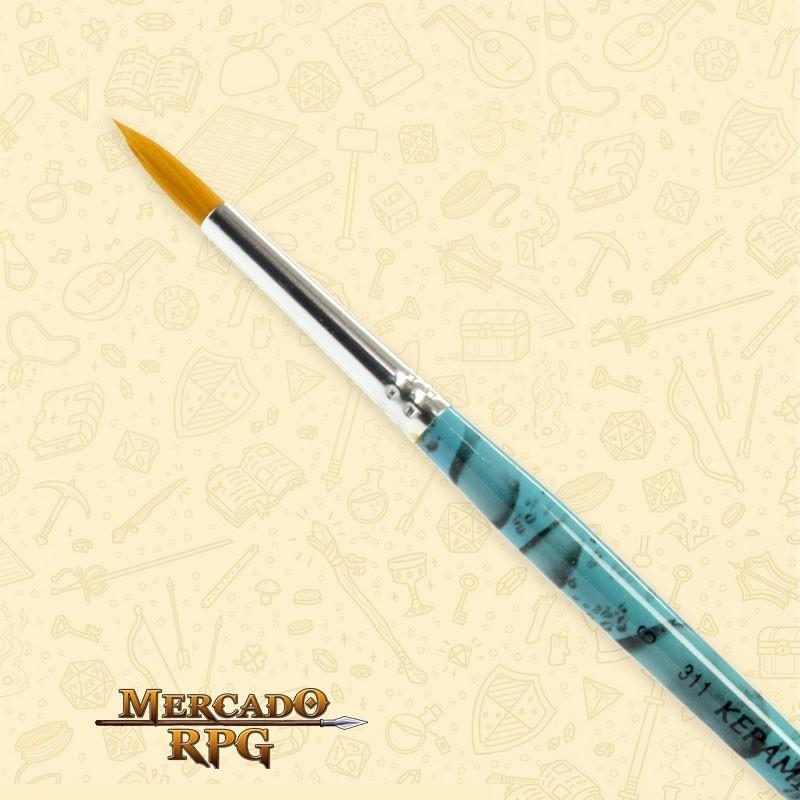 Pincel Keramik 311 Nylon Redondo #6 - RPG