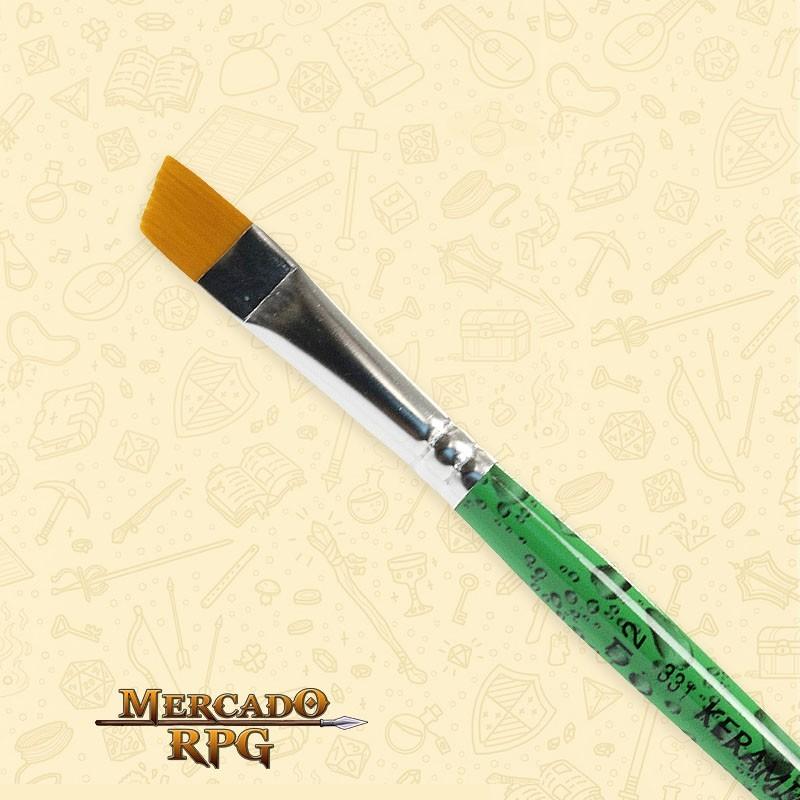 Pincel Keramik 331 Sintético Angular #12 - RPG