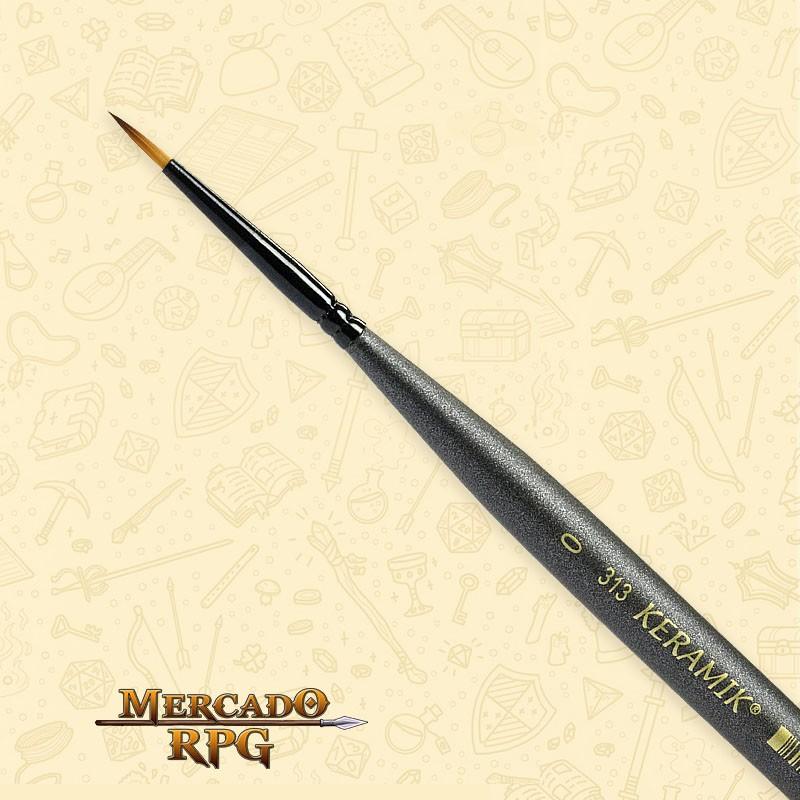 Pincel Keramik Mini 313 - Redondo #0 - RPG