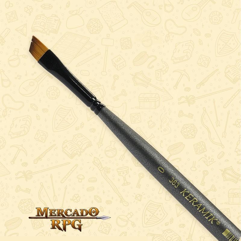 Pincel Keramik Mini Brush 363 - Angular #0 - RPG  - Mercado RPG
