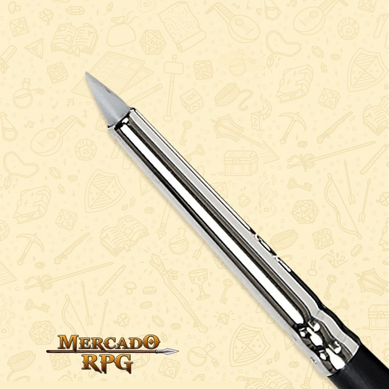 Pincel Modelador Keramik 0 500k - Chanfrado - RPG