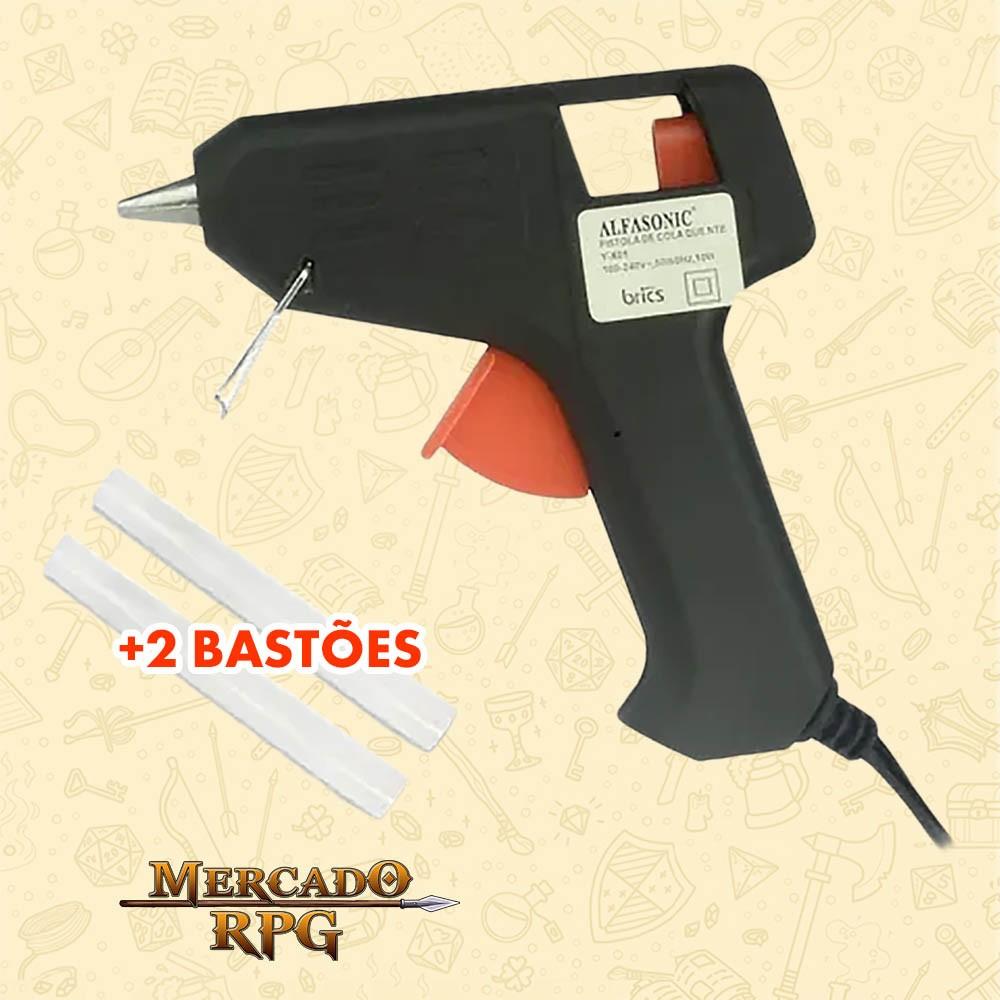 Pistola Para Cola Quente Bivolt +2 Bastões - Alfasonic