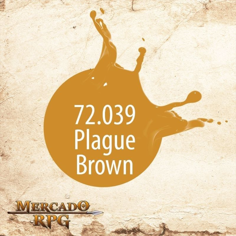 Plague brown 72.039  - Mercado RPG