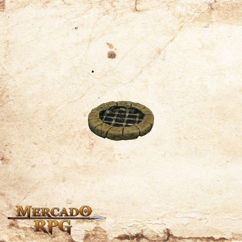 Poço com grades  - Mercado RPG