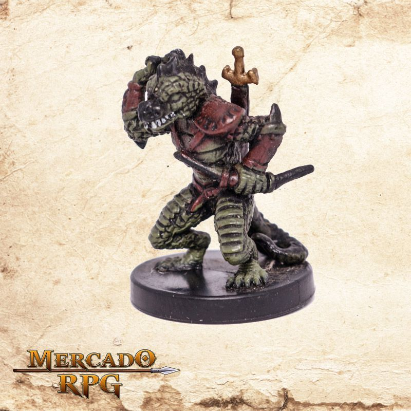 Poison Dusk Lizardfolk  - Mercado RPG