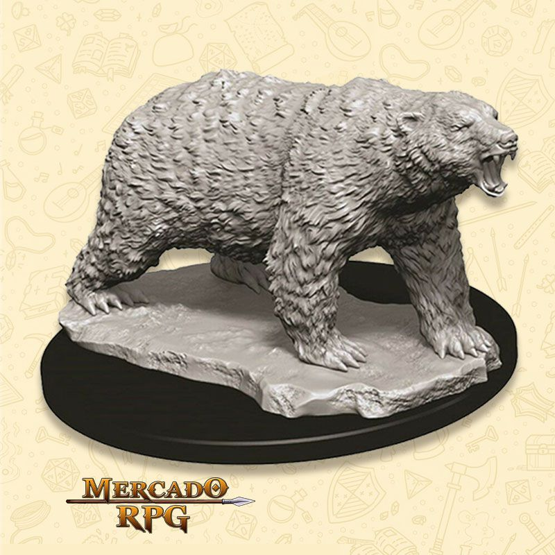 Polar Bear - Miniatura RPG  - Mercado RPG