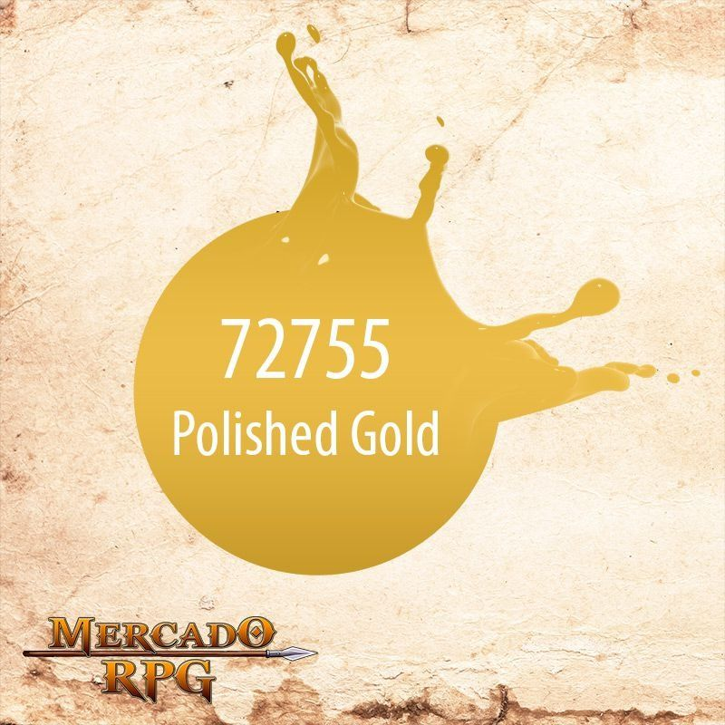 Polished Gold 72.755  - Mercado RPG